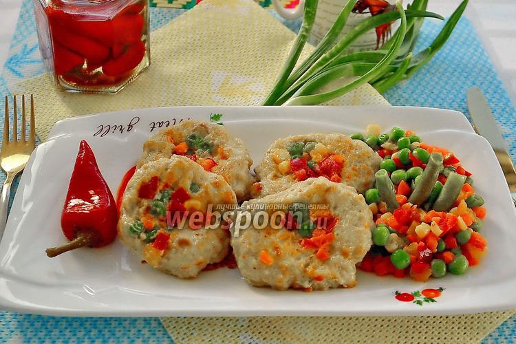 Фото Котлеты с овощами