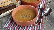 Фото рецепта Гороховый суп с тушёнкой