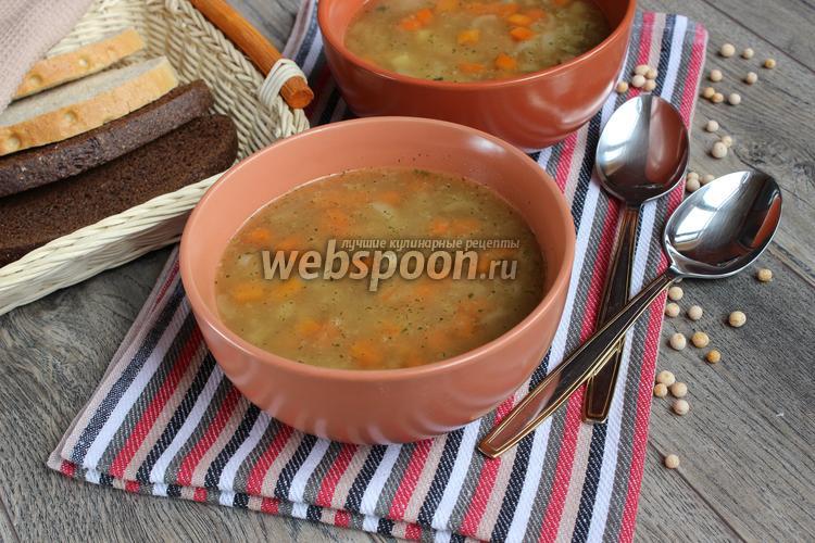 Фото Гороховый суп с тушёнкой