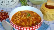 Фото рецепта Паста с фасолью