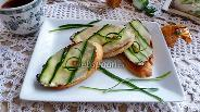 Фото рецепта Бутерброд с огурцом по-английский