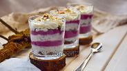 Фото рецепта Десерт «Шарм» творожно-смородиновый