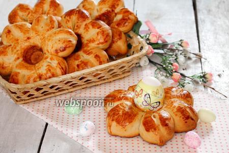 Булочки «подставки» для пасхальных яиц