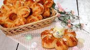 Фото рецепта Булочки «подставки» для пасхальных яиц