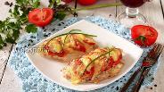 Фото рецепта Куриные отбивные с помидорами в духовке