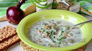 Фото рецепта Суп рыбный из минтая с луком