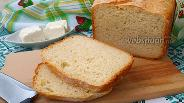 Фото рецепта Хлеб на йогуртовой закваске с брынзой в хлебопечке