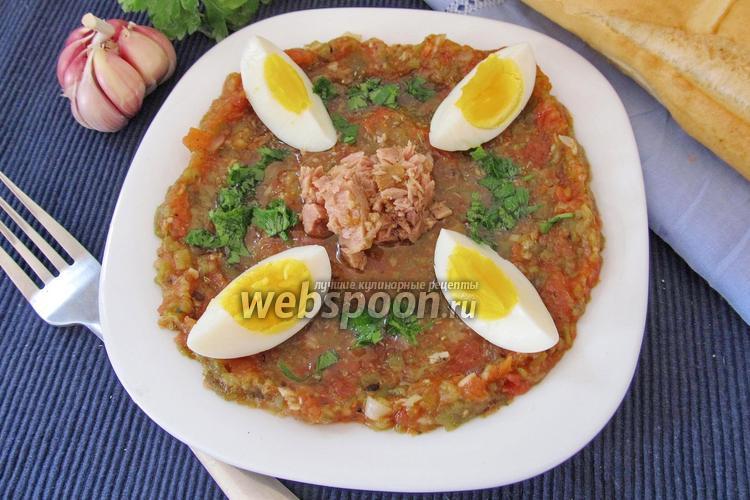 Фото Тунисский салат Мешуя