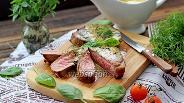 Фото рецепта Стейк из говядины с перечным соусом