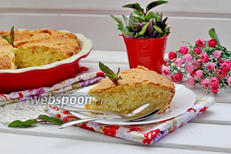 Фото Румынский творожной пирог