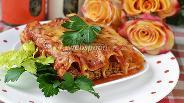 Фото рецепта Каннеллони в томатном соусе