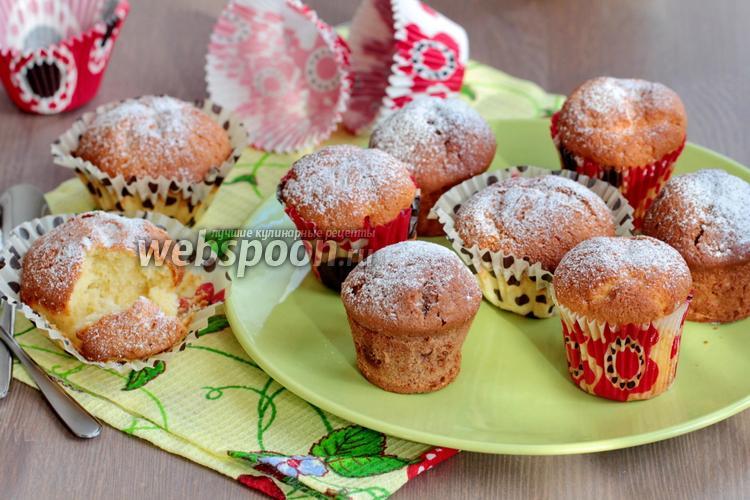 Фото Творожные кексы в формочках