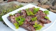 Фото рецепта Колбаса из куриных сердечек