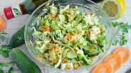 Фото рецепта Салат «Полезный» с капустой