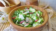 Фото рецепта Салат со щавелем витаминный