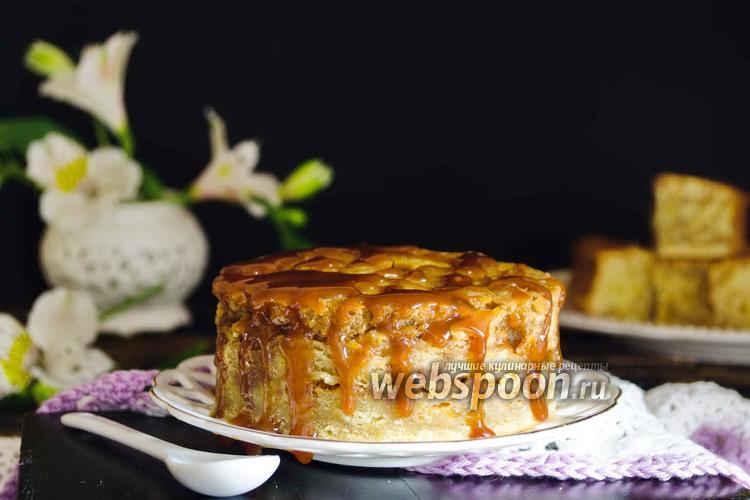 Фото Мраморный карамельный кекс на сыворотке
