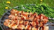 Фото рецепта Шашлык из свинины в пивном маринаде