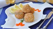 Фото рецепта Крокеты рыбные из кижуча
