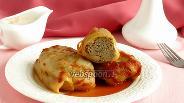 Фото рецепта Голубцы с печенью и кускусом
