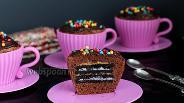 Фото рецепта Шоколадно-ореховые маффины «Орео»