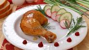 Фото рецепта Курица в медово горчичном соусе