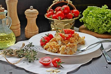 Филе окуня под хлебной крошкой