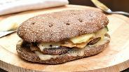Фото рецепта Сэндвич тёплый с утиным филе