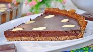 Фото рецепта Шоколадно-миндальный тарт