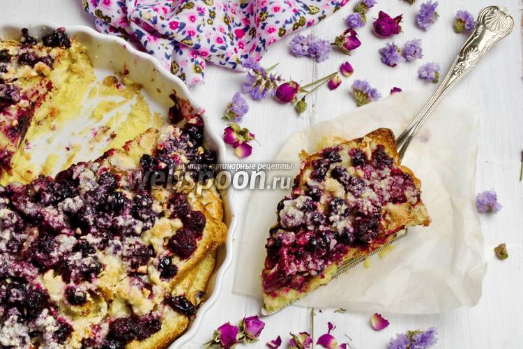 Фото Френч-тост ягодный с орехами
