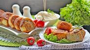 Фото рецепта Шанежки с мясом