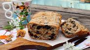 Фото рецепта Кекс с сухофруктами и орехами