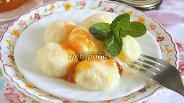 Фото рецепта Ленивые вареники с манкой