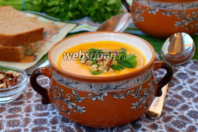 Фото Морковно-ананасовый суп-пюре с карри