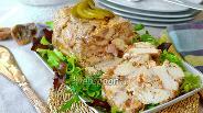 Фото рецепта Террин из курицы с инжиром