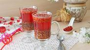 Фото рецепта Льняной кисель с ягодами годжи
