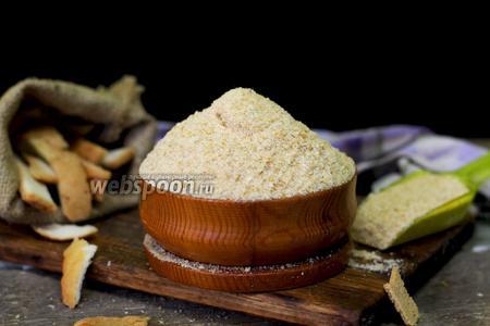 Фото рецепта Сухари панировочные на сковороде