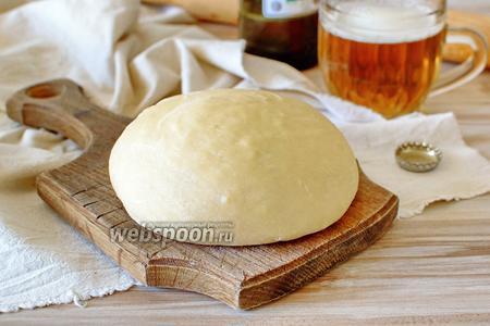 Тесто для пиццы на светлом пиве