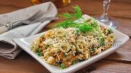 Фото рецепта Салат с сардиной и сыром