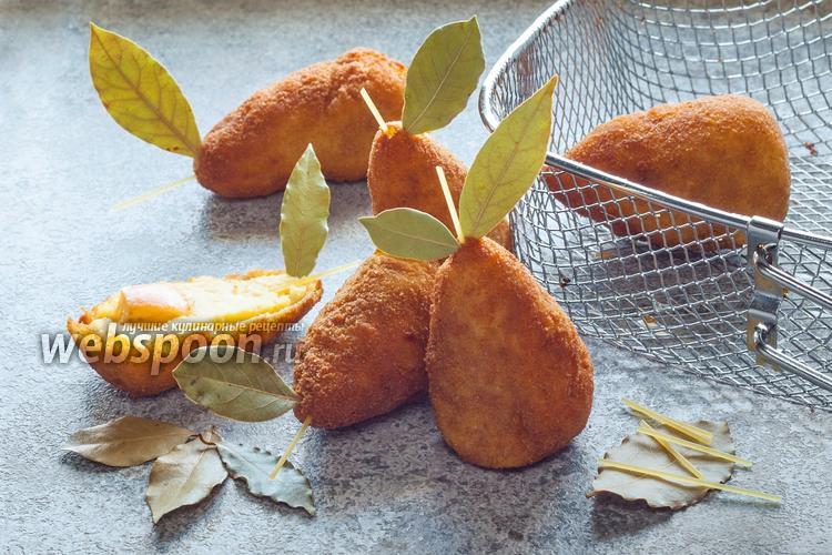 Фото Картофельные крокеты «Груши»