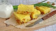 Фото рецепта Заливной пирог с капустой в мультиварке