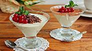 Фото рецепта Сливочный мусс с ванилью