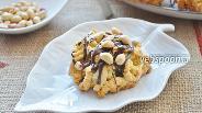 Фото рецепта Печенье домашнее с шоколадом и орехами