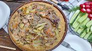 Фото рецепта Курица в тарелке