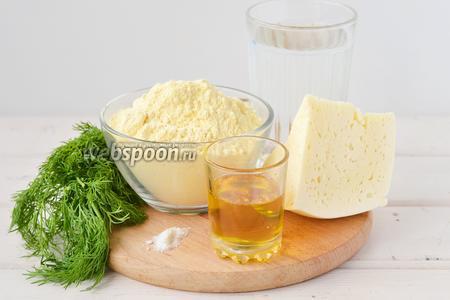 Творожная кукурузная лепешка – кулинарный рецепт
