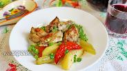 Фото рецепта Жаркое с курицей и овощами в духовке