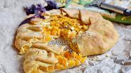Фото рецепта Галета с брынзой и тыквой