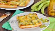 Фото рецепта Слойки с бобами и сыром