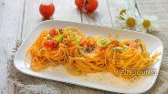Фото рецепта «Гнёздышки» из пасты по-итальянски