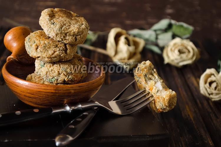 Фото Овощные котлеты в духовке
