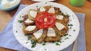 Фото рецепта Оладьи из кабачков с луком-шалотом